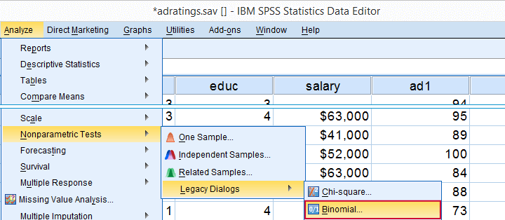 spss tutorial with examples