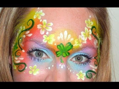 horse face painting tutorial