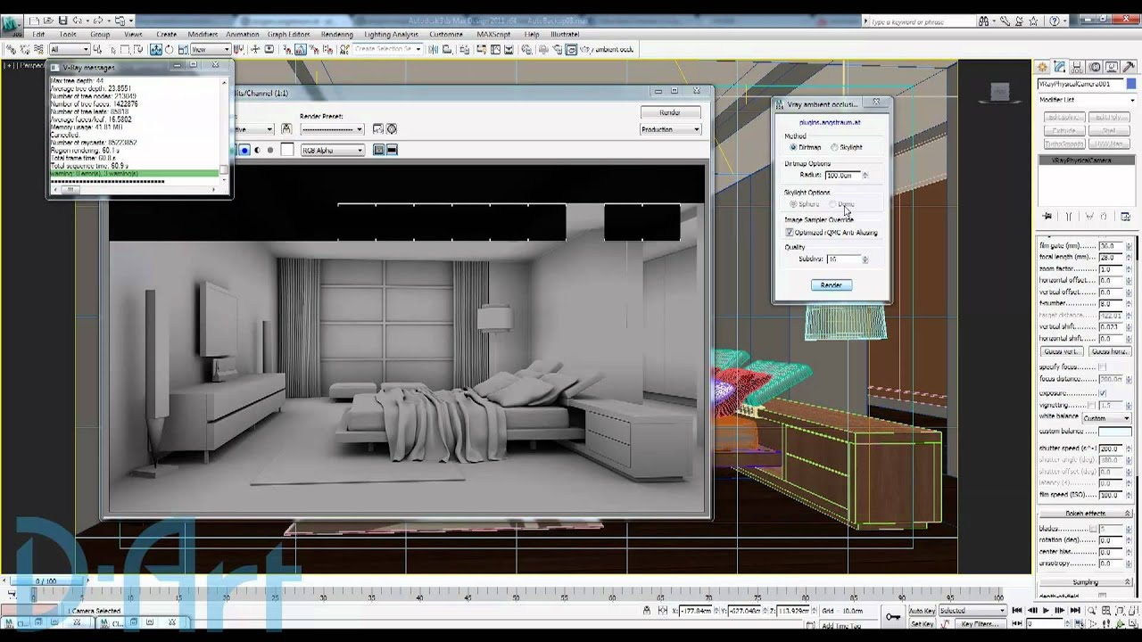vray ambient occlusion tutorial