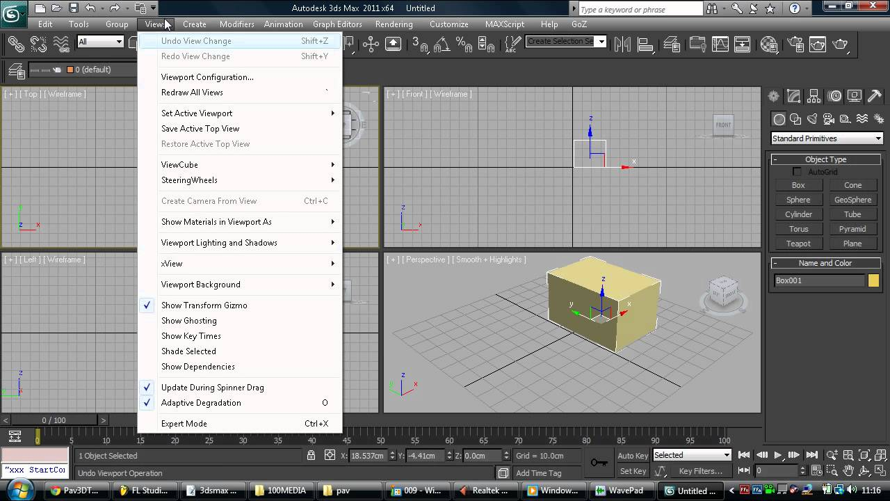 3ds max interface tutorial