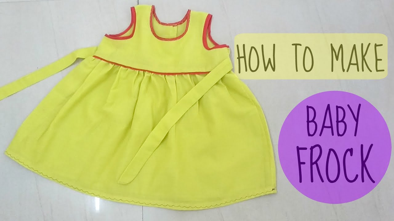 a line frock cutting tutorial