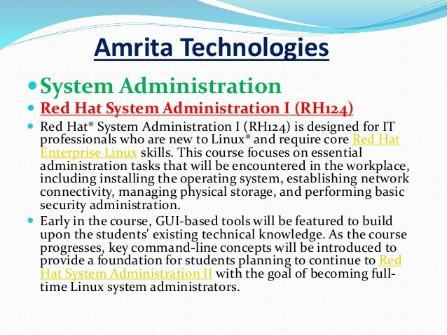 red hat linux tutorial