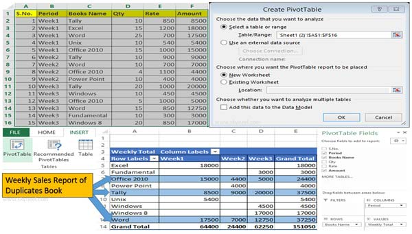how to use pivot tables in excel 2010 tutorial